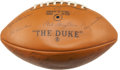 Football Collectibles:Balls, 1968 Green Bay Packers Team Signed Football....