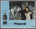 "Movie Posters:James Bond, Live and Let Die (United Artists, 1973). Lobby Card Set of 8 (11"" X14""). James Bond.. ... (Total: 8 Items)"