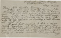 "Autographs:Authors, Charles Dodgson (Lewis Carroll) Autograph Letter Signed ""C. L.Dodgson"". Two pages (front and back), 7"" x 4.25"", Septemb..."