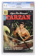 Silver Age (1956-1969):Adventure, Tarzan #94 (Dell, 1957) CGC NM- 9.2 Cream to off-white pages....