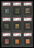 Stamps, U.S. Mint and Used Collection.... (Total: 23 Slab)
