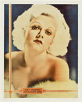 """Movie Posters:Miscellaneous, Jean Harlow Personality Poster (MGM, 1930s). Poster (22"""" X 28"""").. ..."""