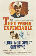 "Movie Posters:War, They Were Expendable (MGM, 1945). One Sheet (27"" X 41"") Style C....."