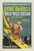 "Movie Posters:Comedy, Wild, Wild Susan (Paramount, 1925). One Sheet (27"" X 41"").. ..."