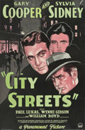 "Movie Posters:Crime, City Streets (Paramount, 1931). One Sheet (27"" X 41"").. ..."