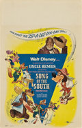 "Movie Posters:Animated, Song of the South (Buena Vista, R-1956). Window Card (14"" X 22"").. ..."