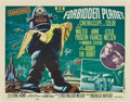 """Movie Posters:Science Fiction, Forbidden Planet (MGM, 1956). Half Sheet (22"""" X 28"""") Style B.. ..."""