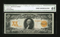 Large Size:Gold Certificates, Fr. 1181 $20 1906 Gold Certificate CGA Crisp Uncirculated 61....