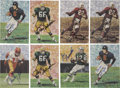 Football Collectibles:Others, Goal Line Signed Football Cards Lot Of 24....