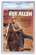 Silver Age (1956-1969):Western, Rex Allen Comics #29 Mile High pedigree (Dell, 1958) CGC FN+ 6.5 White pages....