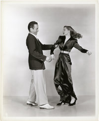 """Humphrey Bogart and Lauren Bacall in """"To Have and Have Not"""" by Bert Longworth (Warner Brothers, 1944). Still (..."""