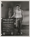 "Movie Posters:Drama, Marlon Brando in ""A Streetcar Named Desire"" (Warner Brothers,1951). Still (8"" X 10"").. ..."