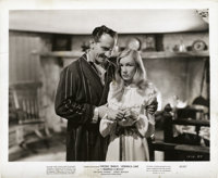 "Fredric March and Veronica Lake in ""I Married a Witch"" (United Artists, 1942). Still (8"" X 10"")"