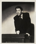"Movie Posters:Drama, James Stewart in ""Mr. Smith Goes to Washington"" by Irving Lippman(Columbia, 1939). Still (8"" X 10"").. ..."