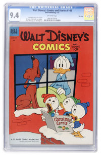 Walt Disney's Comics and Stories #148 File Copy (Dell, 1953) CGC NM 9.4 Off-white pages