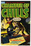 Golden Age (1938-1955):Horror, Chamber of Chills #5 (Harvey, 1952) Condition: FN+....