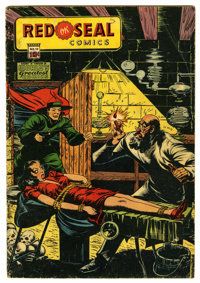 Red Seal Comics #14 (Chesler, 1945) Condition: Apparent GD
