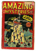 Golden Age (1938-1955):Horror, Amazing Mysteries #32 (Marvel, 1949) Condition: FR....