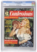 Magazines:Romance, Confessions Illustrated #1 Gaines File pedigree 4/12 (EC, 1956) CGC NM+ 9.6 Off-white to white pages....