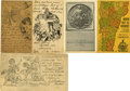 Political:Small Paper (1896-present), Woman's Suffrage: Five Great State Postcards.... (Total: 5 Items)