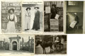Political:Small Paper (1896-present), Woman's Suffrage: Six Photo Cards Including the ScottishCampaign.... (Total: 6 Items)