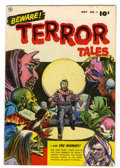 Golden Age (1938-1955):Horror, Beware Terror Tales #1 (Fawcett, 1952) Condition: FN....