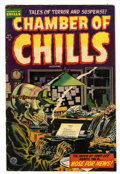 Golden Age (1938-1955):Horror, Chamber of Chills #21 (Harvey, 1954) Condition: VG....