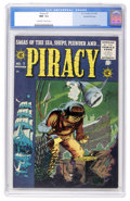 Golden Age (1938-1955):Adventure, Piracy #7 Gaines File pedigree 1/12 (EC, 1955) CGC NM- 9.2 Off-white to white pages....