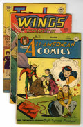 Golden Age (1938-1955):Miscellaneous, Miscellaneous Golden Age Group (Various Publishers, 1940s-'50s) Condition: Average FR.... (Total: 12 Comic Books)