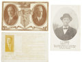 Political:Miscellaneous Political, Woman's Suffrage: Trio of Political Campaign Postcards WithPlatforms Supporting Suffrage.... (Total: 3 Items)
