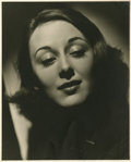 "Movie Posters:Rock and Roll, Ann Dvorak by George Hurrell (circa 1930s). Still (8"" X 10"").. ..."