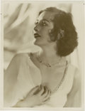 """Movie Posters:Drama, Joan Crawford by George Hurrell (MGM, 1930s). Still (11"""" X 14"""")....."""