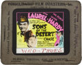 """Movie Posters:Comedy, Sons of the Desert (MGM, 1933). Glass Slide (4"""" X 3.5"""").. ..."""