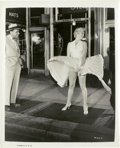 "Movie Posters:Comedy, Marilyn Monroe & Tom Ewell in ""The Seven Year Itch"" (20thCentury Fox, 1955). Still (8"" X 10"").. ..."