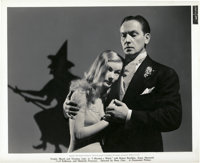"""Fredric March and Veronica Lake in """"I Married a Witch"""" (United Artists, 1942). Still (8"""" X 10"""")"""