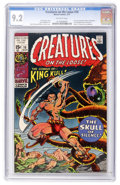 Bronze Age (1970-1979):Horror, Creatures on the Loose #10 (Marvel, 1971) CGC NM- 9.2 Off-whitepages....