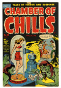Golden Age (1938-1955):Horror, Chamber of Chills #22 (#2) (Harvey, 1951) Condition: FN-....