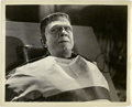 "Movie Posters:Horror, Frankenstein Meets the Wolf Man (Universal, 1943). Stills (3) (8"" X 10"").. ... (Total: 3 Items)"