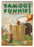Platinum Age (1897-1937):Miscellaneous, Famous Funnies #16 (Eastern Color, 1935) Condition: VG....