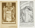 Political:Small Paper (1896-present), Woman's Suffrage: Two Party Postcards.... (Total: 2 Items)