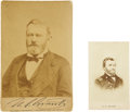 Political:Small Miscellaneous (pre-1896), Ulysses S. Grant: Two Photographic Images.... (Total: 2 Items)