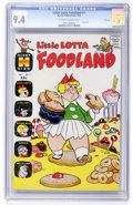 Silver Age (1956-1969):Cartoon Character, Little Lotta Foodland #1 File Copy (Harvey, 1963) CGC NM 9.4 Off-white to white pages....