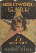 Books:First Editions, J. P. McEvoy. Hollywood Girl. New York, 1929. Firstedition....