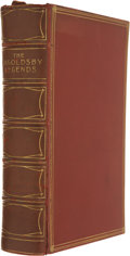 Books:First Editions, Thomas Ingoldsby. The Ingoldsby Legends or Mirth andMarvels. London, 1906. Early edition. Illustrations. Contem...