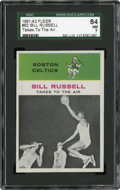 Basketball Cards:Singles (Pre-1970), 1961-62 Fleer Bill Russell IA #62 SGC 84 NM 7....