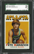 Basketball Cards:Singles (1970-1979), 1971-72 Topps Pete Maravich #55 SGC 96 Mint 9....