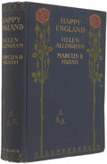 Books:First Editions, Marcus D. Huish and Helen Allingham. Happy England. London:Adam and Charles Black, 1903. First edition. Illustr...
