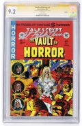 Modern Age (1980-Present):Horror, Vault of Horror #1 Signature Series (Russ Cochran, 1991) CGC NM-9.2 White pages....