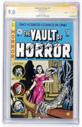 Modern Age (1980-Present):Horror, Vault of Horror #4 Signature Series (Gladstone, 1991) CGC VF/NM 9.0White pages....