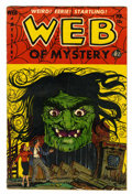 Golden Age (1938-1955):Horror, Web of Mystery #17 (Ace, 1953) Condition: VG+....